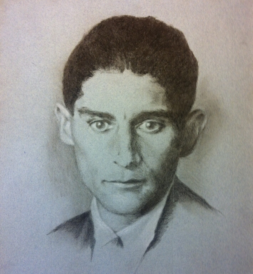 Franz Kafka by Hersent